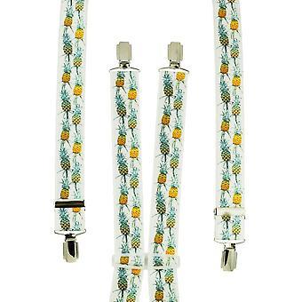 Krawatten Planet Ananas Men's Hosenträger