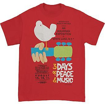 Camiseta do pôster de Woodstock Woodstock