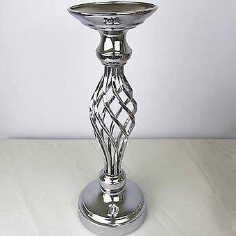 Creative Hollow Metal Candle Holder- Wedding Table Centerpiece Flower Vase Rack