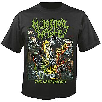 Municipal Waste The Last Rager T shirt