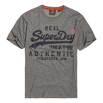 Superdry Reactive Classic T-Shirt - Phoenix Grey Grit
