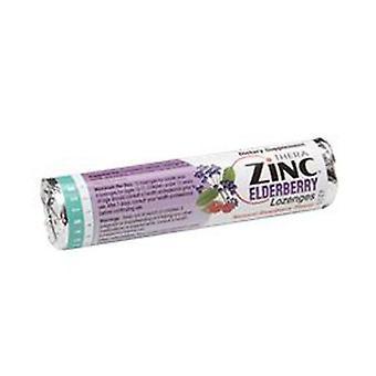 Quantum Health Lozenge Zinc, Elderberry Raspberry 14PC(case of 12)