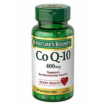 Nature's Bounty Co Q-10, 400 mg, 24 X 39 Softgels