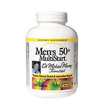 גורמים טבעיים נוסחה רב-התחלה, גברים&s 50+ 120 טבליות