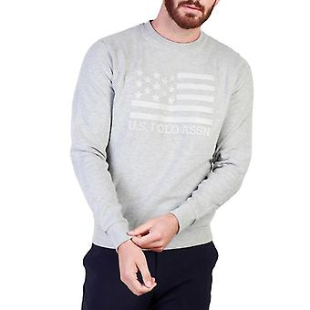 Us polo assn. 43486 men's crew neck long sleeves sweatshirt