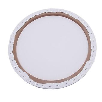 Round Canvas Panel Blank Cotton Acrylic Art Artist Oil Painting