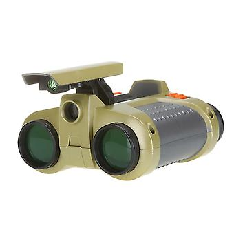 4x30 Binocular Telescope- Night Vision Viewer Surveillance Spy Scope Pop-up