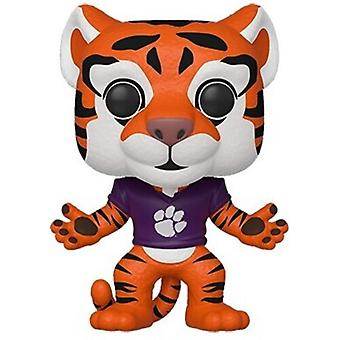 Clemson - La tigre (Home Orange Paw Jersey) USA