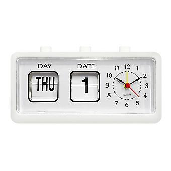 Alarm Clock, Retro - White