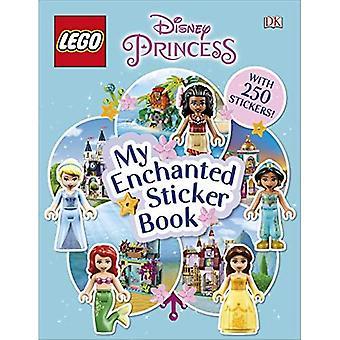 LEGO Disney Prinsessa minun lumottu tarra kirja