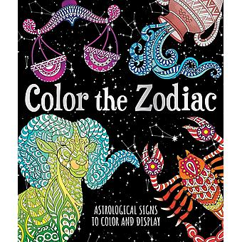 Color the Zodiac by Sinclair & Astrid