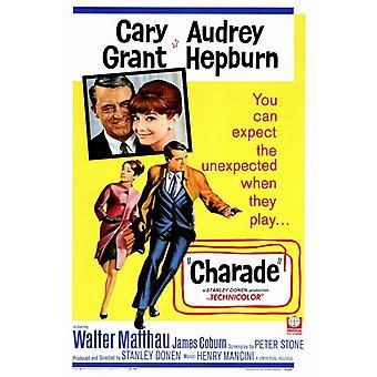 Charade Movie Poster Print (27 x 40)