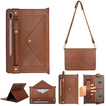 Кожаный чехол против падения для Apple iPad Mini 1/2/3/4/5 коричневый