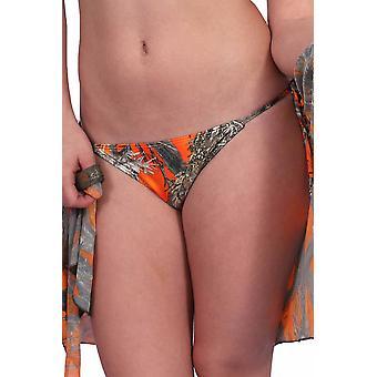Women's Authentic True Timber Bikini Bottom Only Swimwear Made