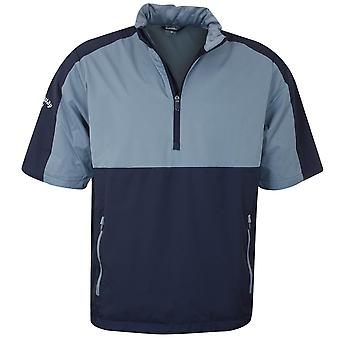 Callaway Golf Mens Golf Block Water Resistant Stretch Wind Jacket