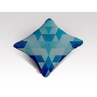 תבנית כחולה 3 כרית/כרית
