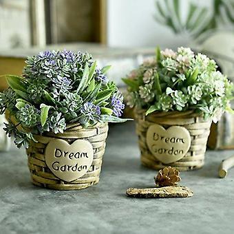 Keinotekoiset kukat koti häät sisustus