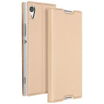 Etui Sony Xperia XA1 Housse clapet portefeuille fonction stand