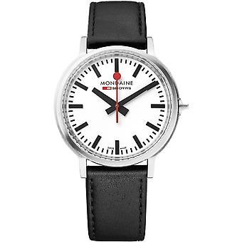 Mondaine MST.4101B.LB Stop2go Heren Horloge
