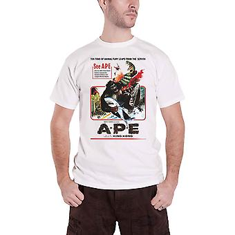 Plan 9 T Shirt Ape Movie Poster new Official Mens White