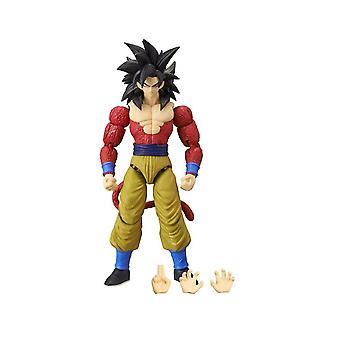 Dragon Ball Dragonstars Super Saiyan 4 Goku Action Figure