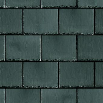Dolls House Roof Tile Slates Dark Grey Miniature Embossed Card Roofing Sheet