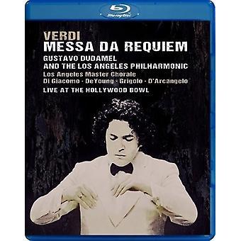 Verdi: Messa Da Requiem Live at the Hollywood Bowl [DVD] USA import