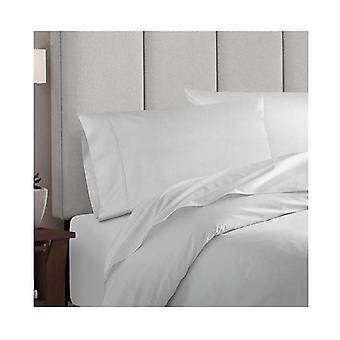 Balmain Bamboo Cotton Quilt Cover Pillowcases Set King White