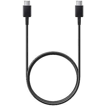 Samsung EP-DG977BBE Data Cable / Latauskaapeli 1m USB Type-C että USB Type-C Musta