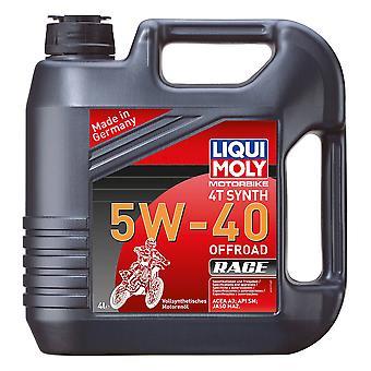 Liqui Moly 4 Stroke Fully Synthetic Offroad Race 5W-40 4L - #3019