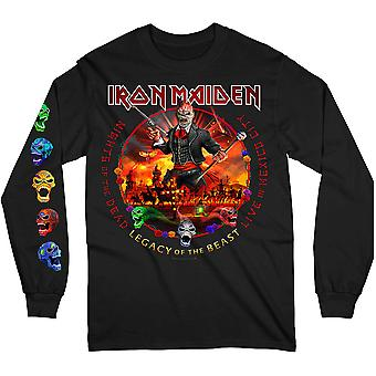 Longsleeve Iron Maiden Nights Of The Dead Official Tee T-Shirt Unisex