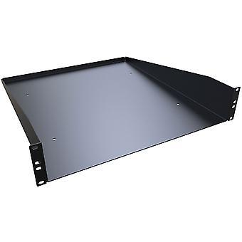 """Hammond RASU190320BK1 2U Cantilever 20"""" - Solid Black 89 x 483 x 508"""