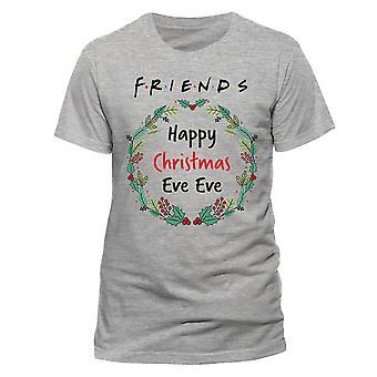 Amigos Unisex adulto Navidad Noche Navidad Camiseta de Navidad