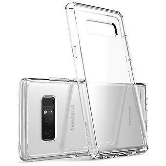 I-Blason Clear Halo Series Samsung Galaxy Note 8 Hybrid Bumper Case-Clear