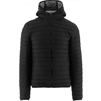 Colmar Black Hooded Down Jacket