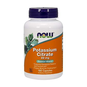 Potassium Citrate 99mg 180 vegetable capsules