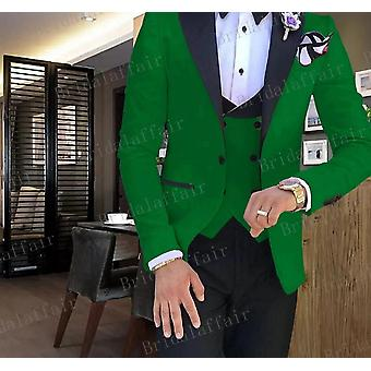 Tide Men Colorful Fashion Wedding Suits