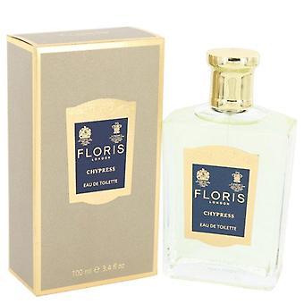Floris Chypress Eau De Toilette Spray por Floris 3.4 oz Eau De Toilette vaporizador
