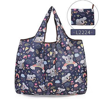 Grocery Foldable Tote Handbag