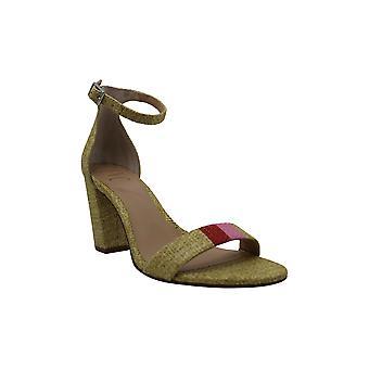 INC International Concepts Womens Kivah20 Peep Toe Casual Ankle Strap Sandals