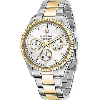 Mens Watch Maserati R8853100021, Quartz, 43mm, 10ATM