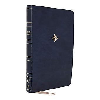 NKJV, Reference Bible, Center-Column Giant Print, Leathersoft, Blue, Red Letter, Comfort Print: Holy� Bible, New King James Version