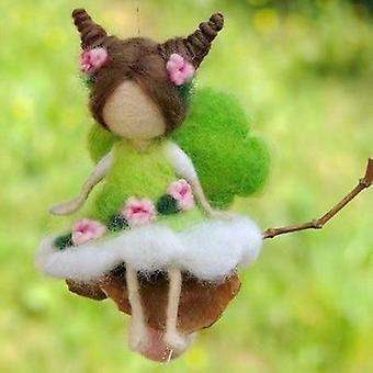 Non-finished Pocket- Animal Pet, Doll Toy, Handcraft Wool, Needle Felting Bag