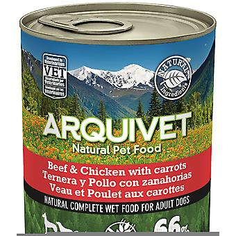 Arquivet Wet Dog Food Adult Chicken and Veal (Dogs , Dog Food , Wet Food)