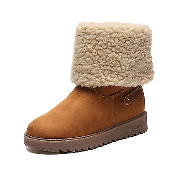 Women Winter Faux Fur Warm Snow Boots