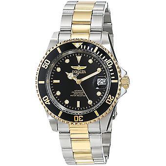 Invicta Pro Diver 18k gouden Ion tweetonige mens Watch 8927OB