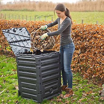 Nature Compost Bin 300 L Black