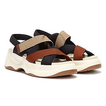 Vagabond Essy Womens White / Orange Sandals