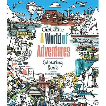 A World Of Adventures Colouring Book Colouring Books