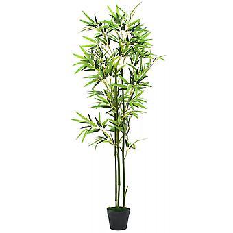ポット150センチグリーンとvidaXL人工竹の植物